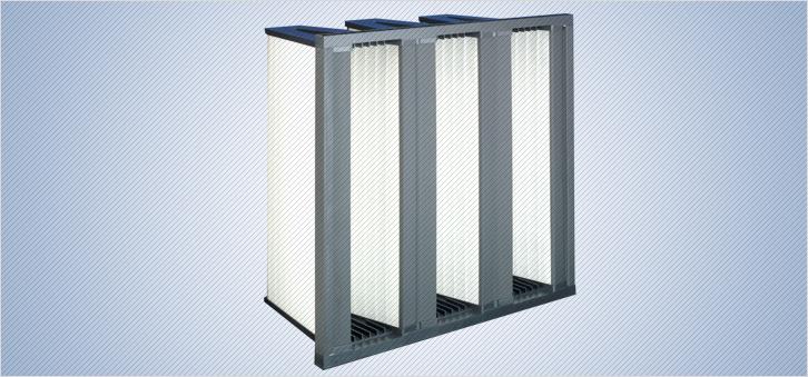 Filtre compacte pentru ventilatie climatizare