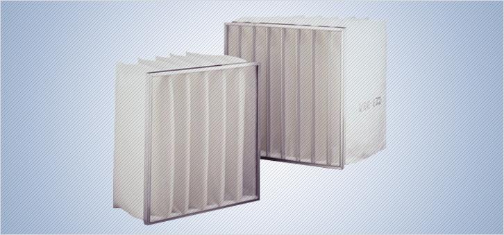 Filtre cu buzunare pentru ventilatie si climatizare